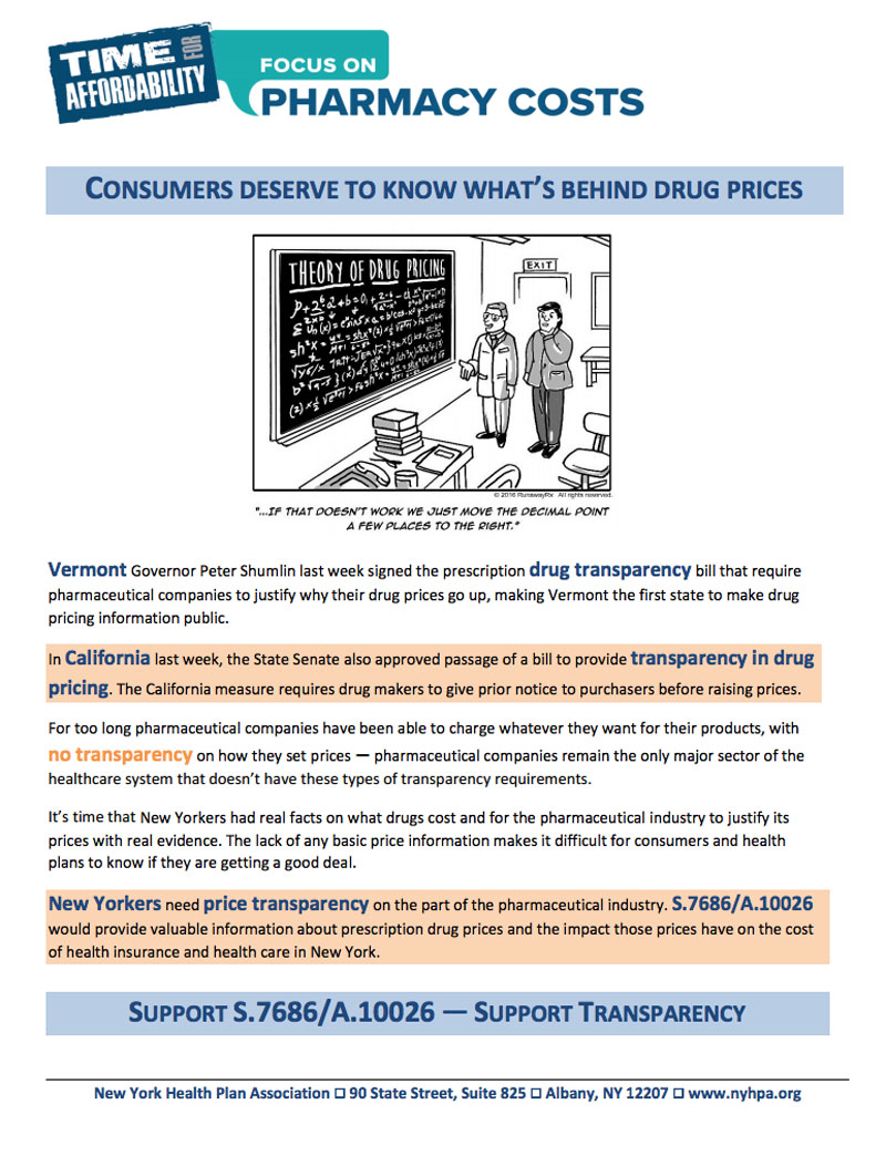 What's Behind Drug Prices