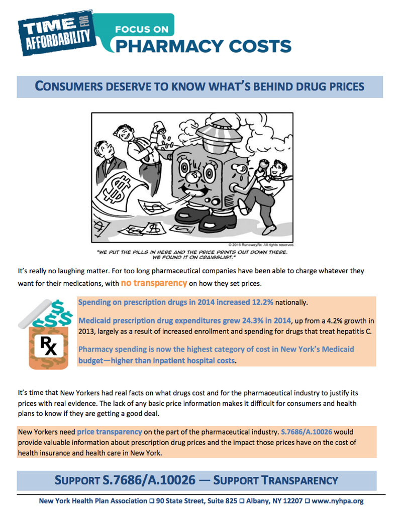 Consumers deserve drug facts