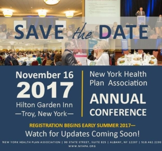 Save the Date - Nov 16 2017 - NYHPA Conference