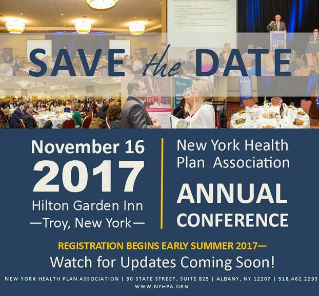 NYHPA 2017 Conference - Save the Date! Nov 16 2017