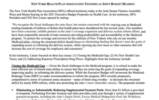news release - 2-27-2020 New Yorkers reject medicaid costs