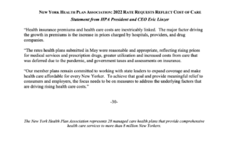 NYHPA Statement on 2022 Rates